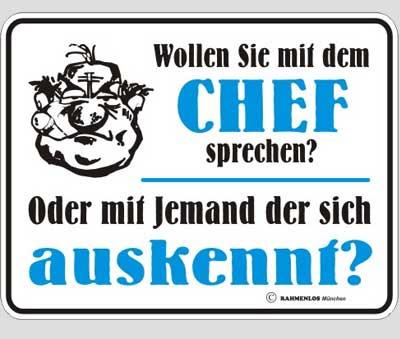 Spruche Spruche Chef