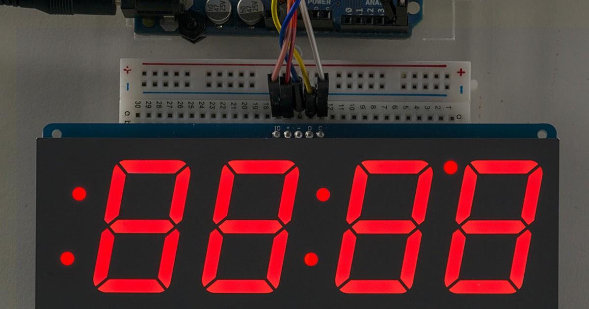 Usb Led Fan Clock Project