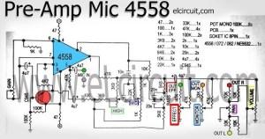 I'm Yahica: Pre Amp Circuit Using 4558 Pdf