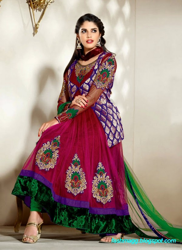 Fashion Amp Style Indian Anarkali Frocks SpringsSummer