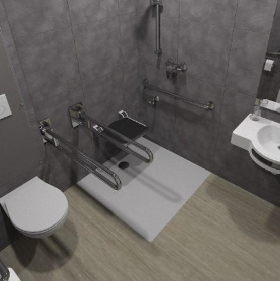 salle de bain prefabriquee