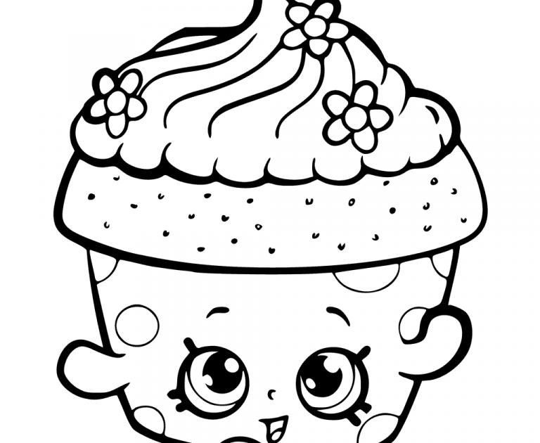 Paling Inspiratif Sketsa Cupcake Lucu Asiabateav