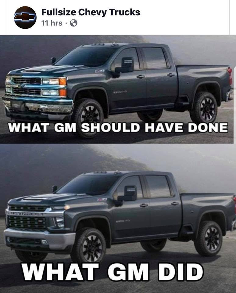 Face It This Is The 2020 Chevrolet Silverado Hd The Truth About