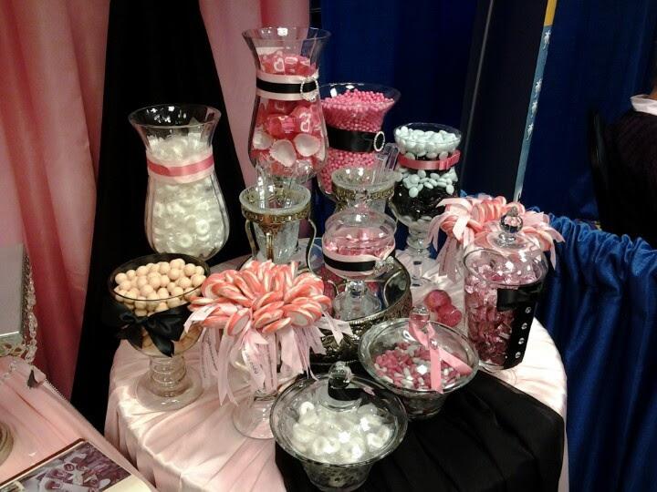 Wedding Ideas Black And Pink Wedding