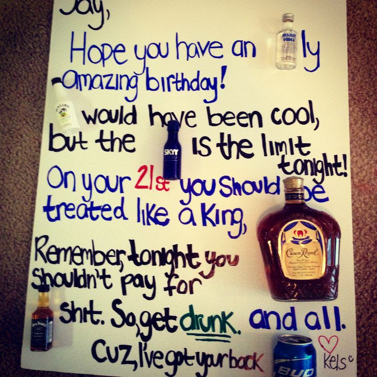 Smart Idea Boyfriend 21st Birthday Present Ideas