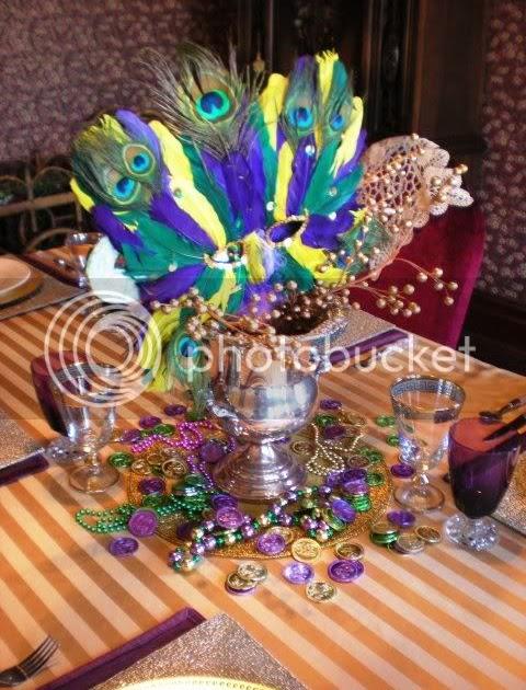 Carolinajewels Table Happy Mardi Gras