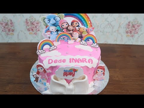 Cake Ultah Karakter Frozen 01 Kue Ultah Pusat