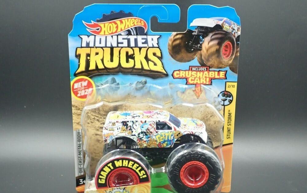 hot wheels monster trucks 2020 poster