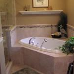 Home Architec Ideas Bathroom Design Corner Tub