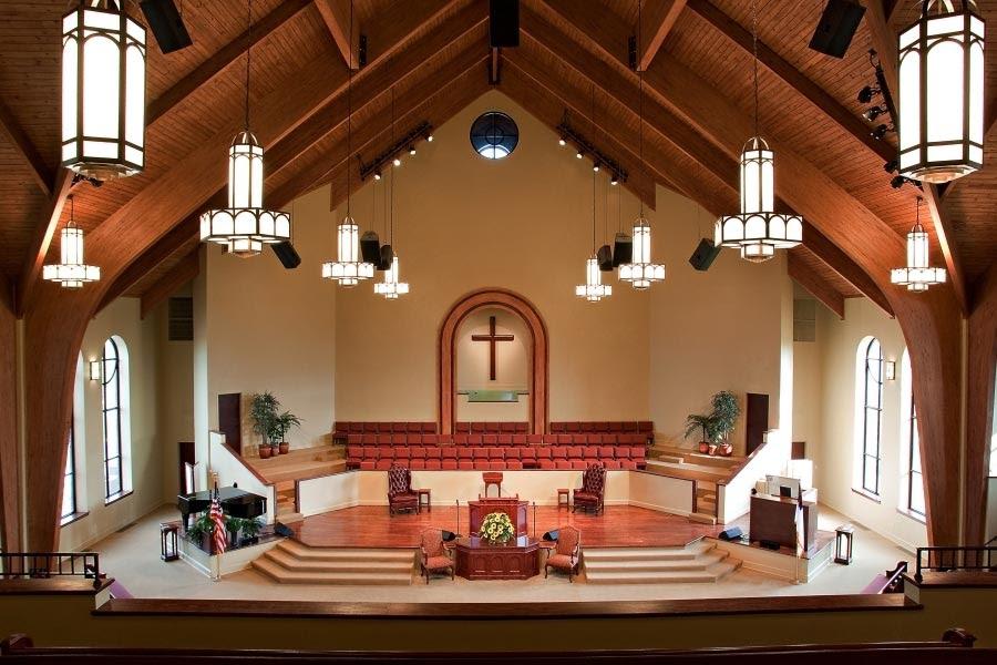 modern small church interior design