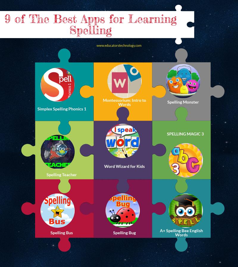 7 Good Apps for Learning Spelling
