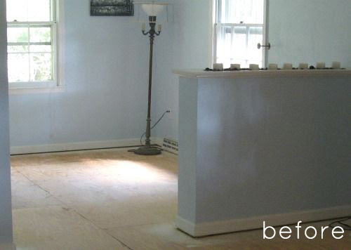 painting ceramic tile before and after