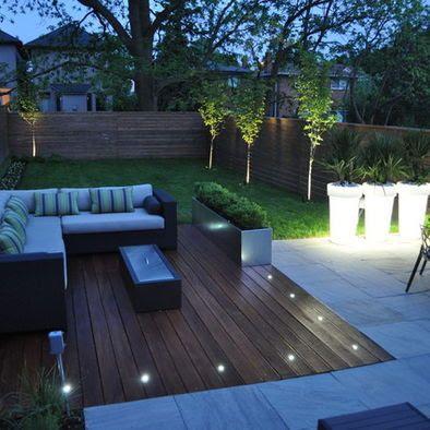 modern patio lights