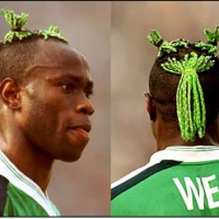 Taribo West's Hairstyle crowned 'Worst Haircut in football history'