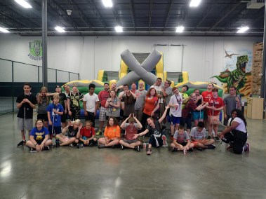 SOAR Students have a blast playing laser tag, rock climbing, participating in a Ninja Warrior course and other sports while visiting Epic 6 in St. Louis, MO.
