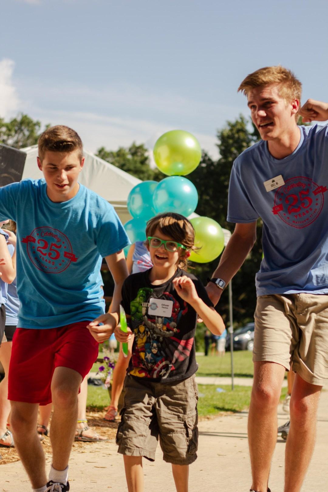 Young Boy Arrives at Camp Barnabas