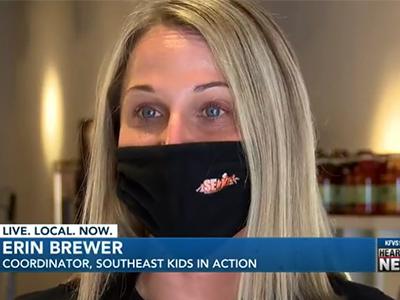 Erin Brewer, SEKIA Program Manager Interview on KFVS News