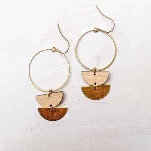 double circle hoops