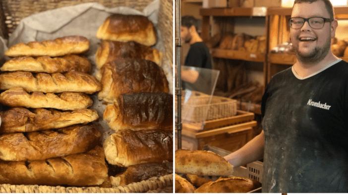 Viennoiseries, pain français, boulangerie, Saint-Jean de Terre-Neuve