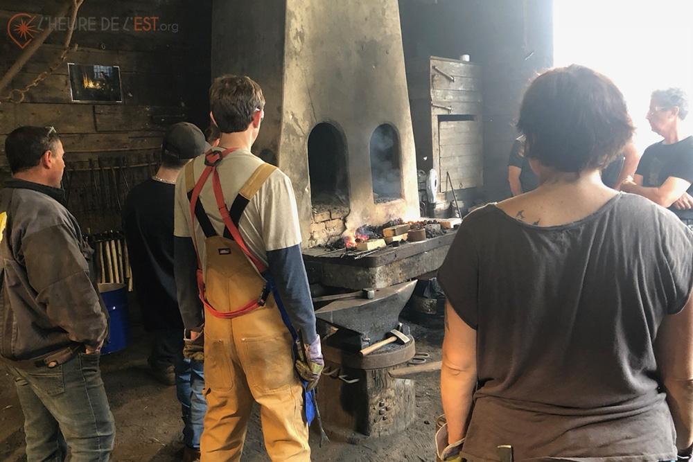 Les apprentis de la Forge Lebailly