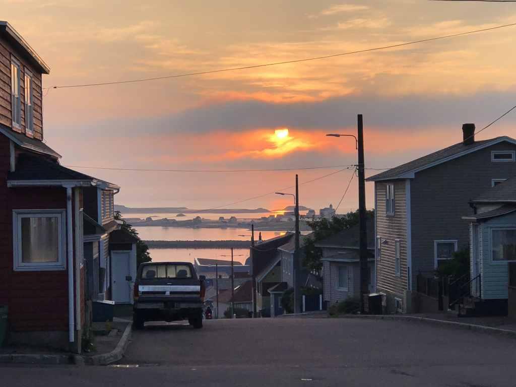 Saint-Pierre, Saint-Pierre et Miquelon, au petit matin
