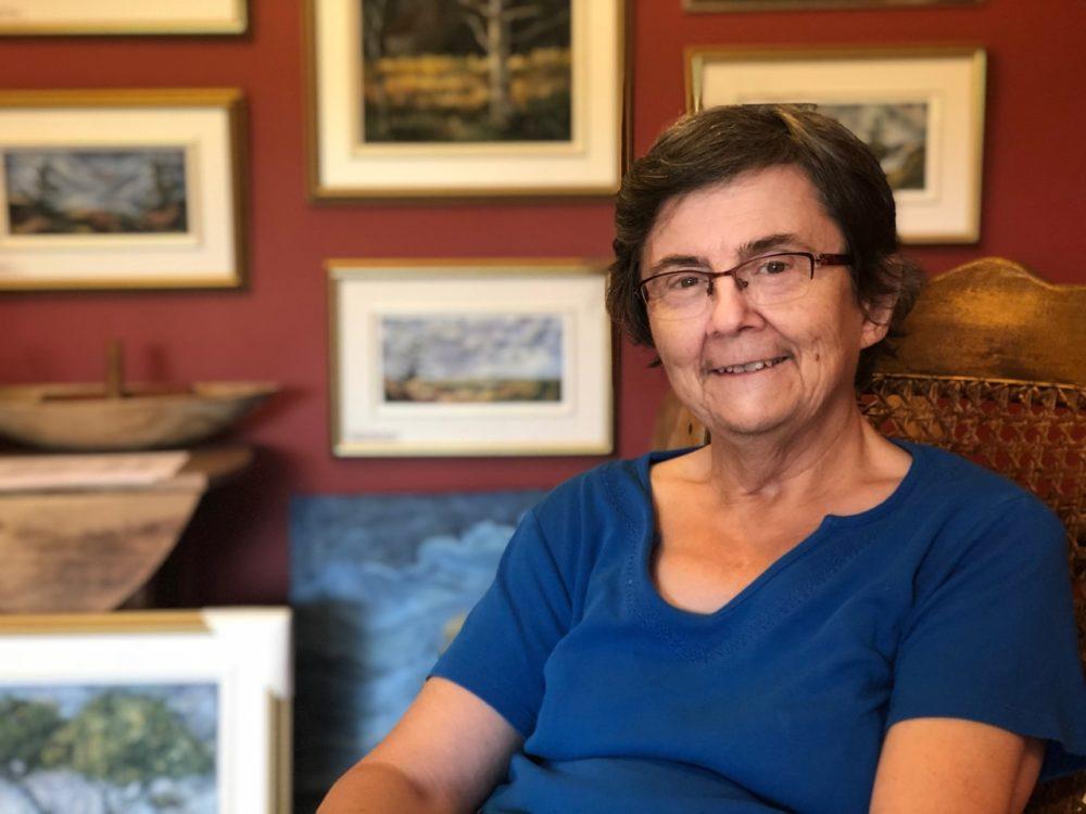 June Deveau peintre acadienne