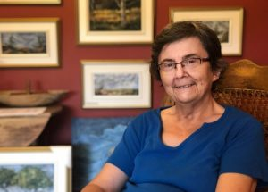 June Deveau peintre acadienne