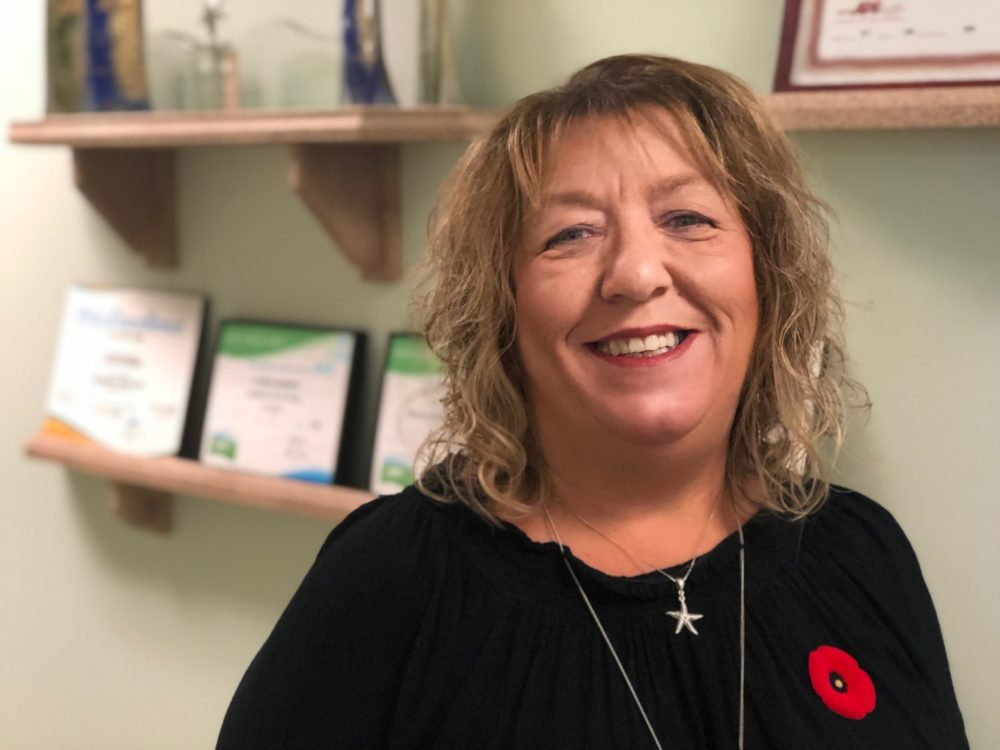 Marcia_Enman directrice de la Voix Acadienne