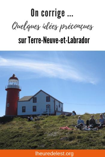image Pinterest idées préconcues Terre-Neuve et Labrador