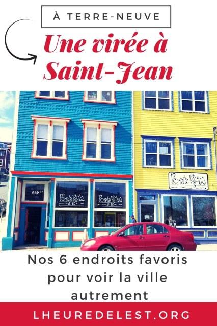 image pinterest conseils Saint-Jean de Terre-Neuve