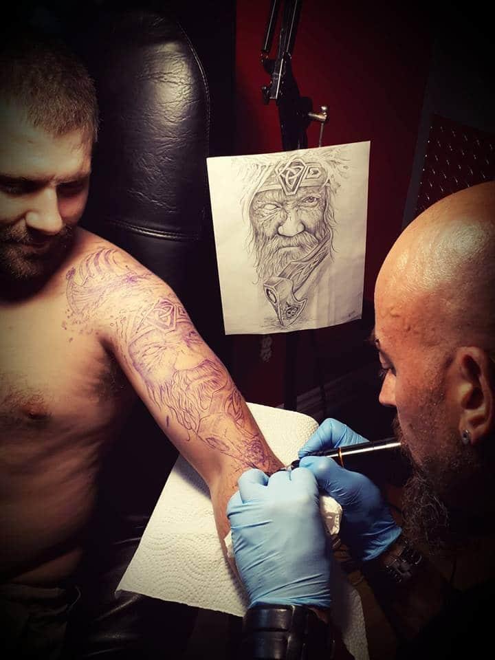 tatouage Viking Péninsule acadienne