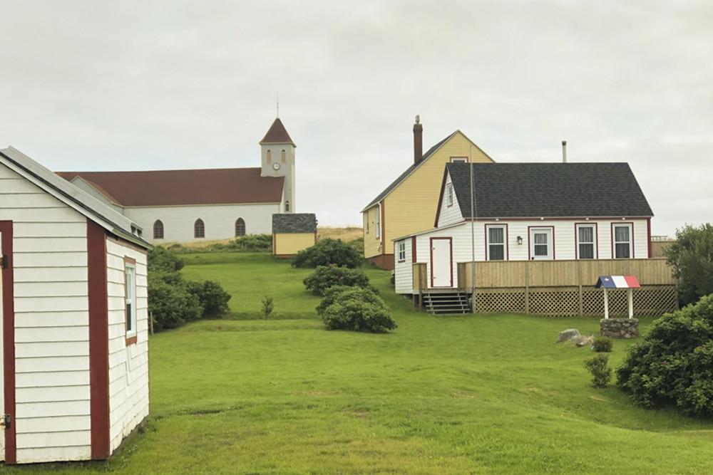 des maisons de l'ile aux marins