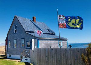 drapeaux ile aux marins