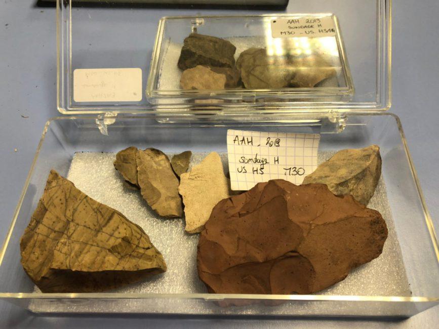 fouilles archéologiques CNRS Université Laval