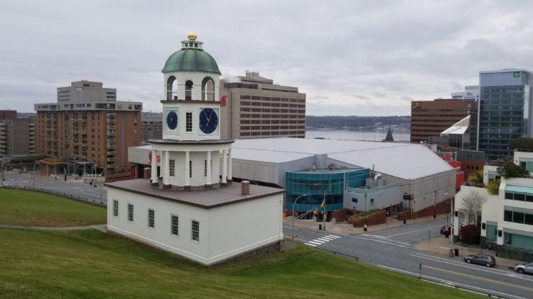 La Citadelle au centre ville d'Halifax, Nouvelle Ecosse