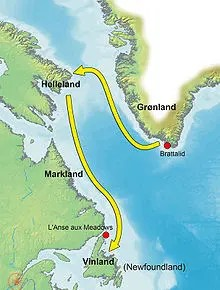 Voyage vers Vinland