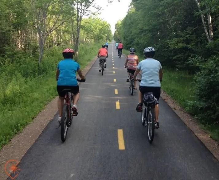 Vélo en Acadie