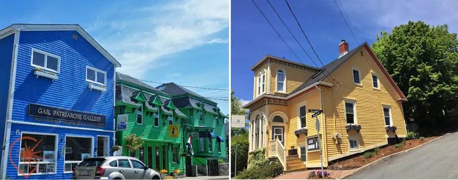 couleurs de lunenburg maisons