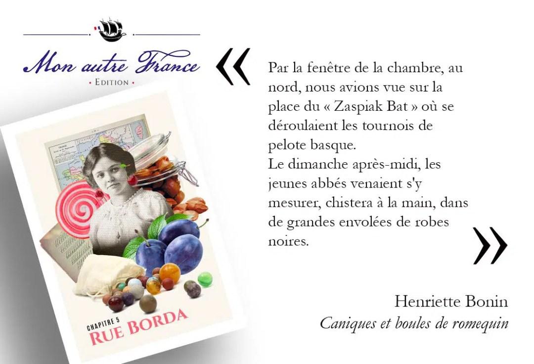 illustration caniques et boules de romequin Une enfance à Saint-Pierre et Miquelon