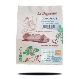 Dagosette Colombie 100% arabica bio et équitable x24