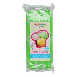 Pâte à sucre vert printanier 1kg