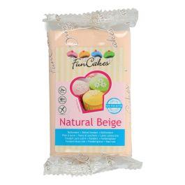 Pâte à sucre – beige naturel – 250gr – Fun Cakes