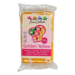 Pâte d'amandes jaune 250g