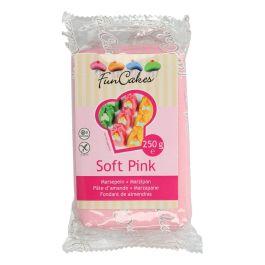 Pâte d'amandes rose pastel 250gr