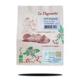 Dagosette Mexique 100% arabica bio et équitable x24