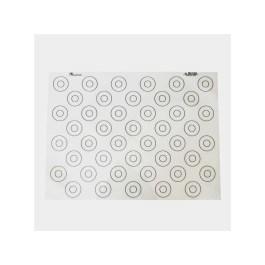 Tapis silicone spécial macaron 40×30