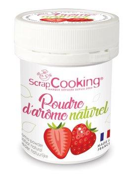 Pot de poudre d'arôme naturel fraise – ScrapCooking