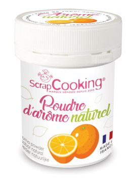 Pot de poudre d'arôme naturel orange – ScrapCooking