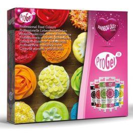 Colorant gel RD PROGEL® pack 6 couleurs