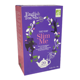 20 sachets thé vert Slim Me – English Tea Shop